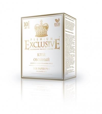 """Клей для обоев """"Exclusive"""" бумажный PREMIUM, 250 гр."""