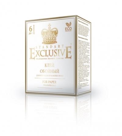 """Клей для обоев """"Exclusive"""" бумажный STANDART, 150 гр."""