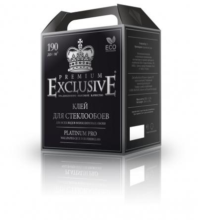"Клей для стеклообоев ""Exclusive"" платина PREMIUM, 1000 гр."